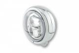5 3/4 Zoll LED-Scheinwerfer PECOS TYP 7 mit Standlichtring E-geprüft