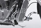 """Fußrastenanlage """"Round Style"""" für Honda VT600"""