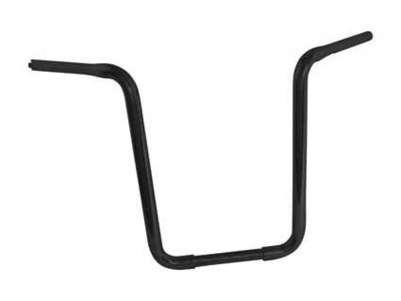 Fat Apehanger Narrow Lenker Black 14 Zoll mit TÜV