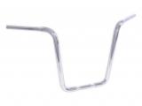 Fat Apehanger Narrow Lenker Chrom 17 Zoll mit TÜV