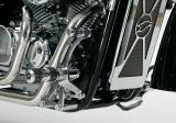 """Fußrastenanlage """"Round Style"""" für Honda VT750 Black Widow"""