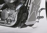 """Fußrastenanlage """"Round Style"""" für Honda VT1100 C2"""